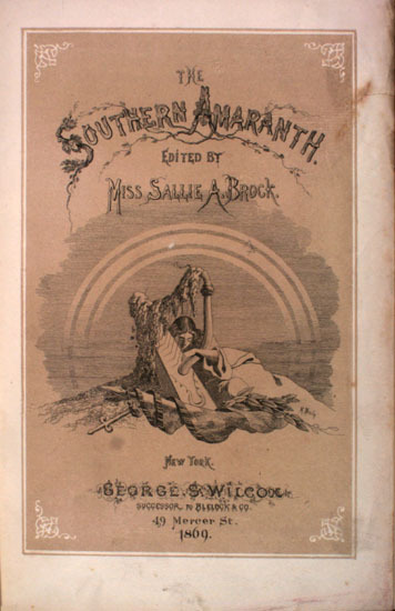 The Southern Amaranth, 1869