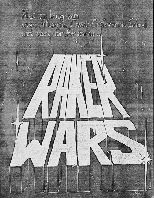 "Terry Kevin Amthor. Photocopied typed manuscript of ""Raker Wars."" 1981."