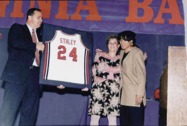 Photograph of Dawn Staley