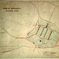 Plan of University Cleared Land
