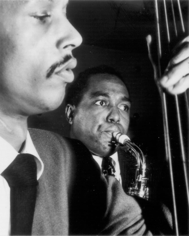 "Charlie ""Bird"" Parker and Tommy Potter"
