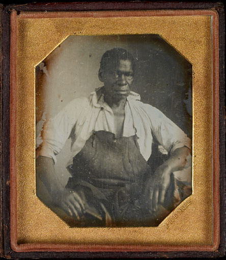 Daguerreotype of Isaac Jefferson, ca. 1847.