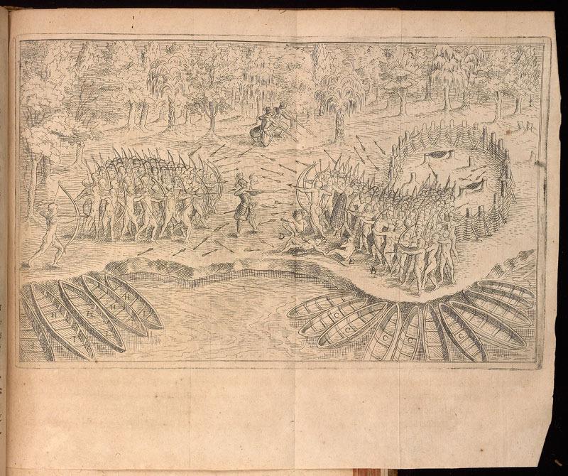 Samuel de Champlain, Les voyages du sieur de Champlain Xaintongeois, 1613.
