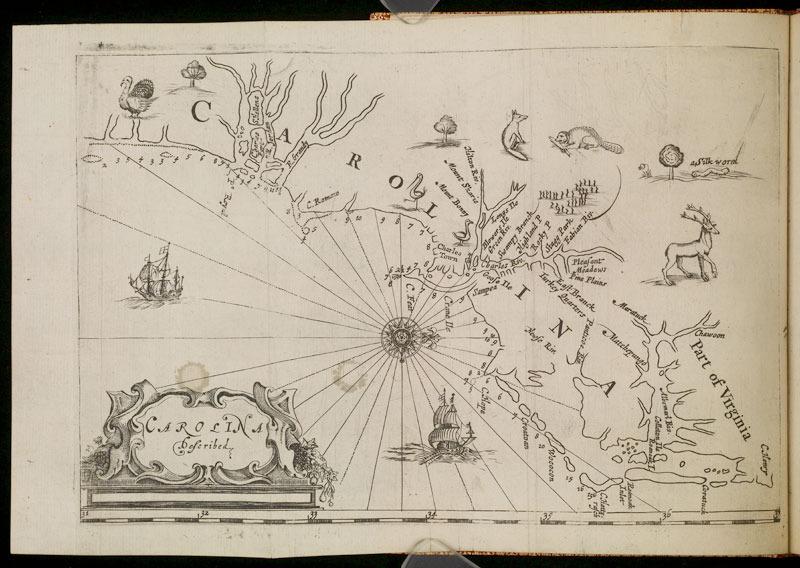 A brief description of the province of Carolina on the coasts of Floreda, 1666.