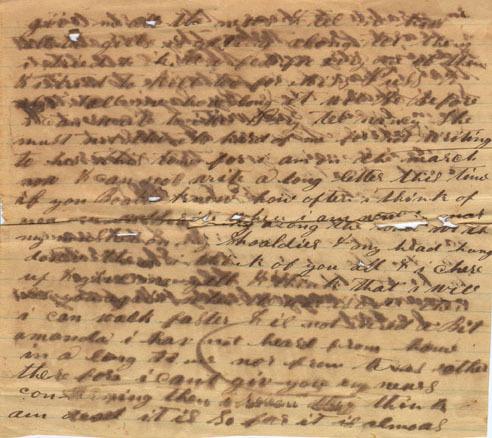 John M. McDowell letter, 1864
