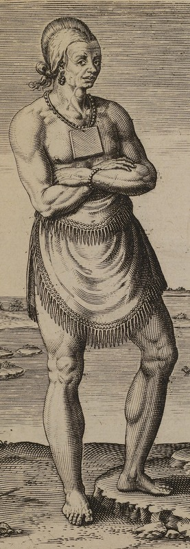 Native Man with Copper