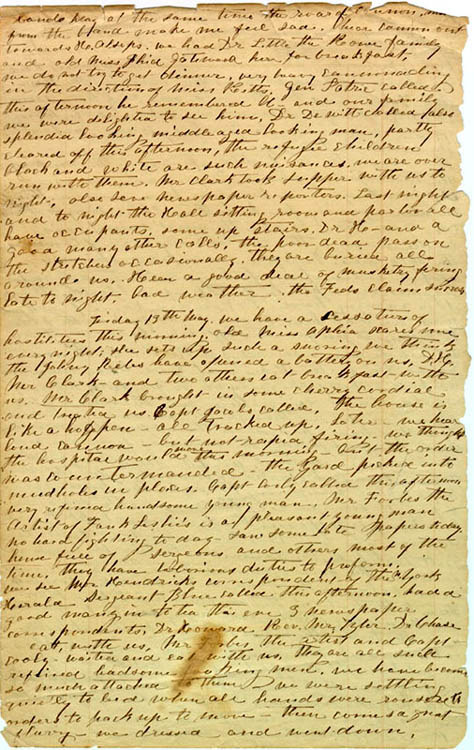 Katherine Couse letter, 1864