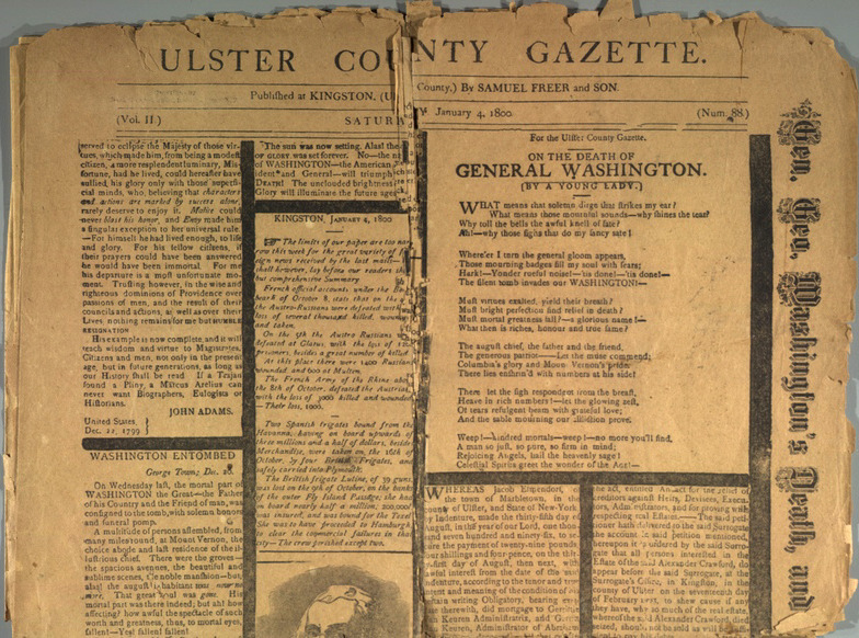 Ulster County Gazette
