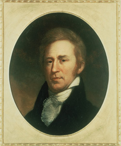 Portrait of William Clark by Charles Willson Peale, ca. 1810.