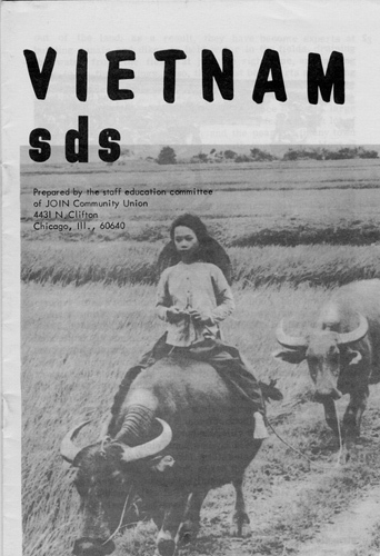 Students for a Democratic Society. Vietnam