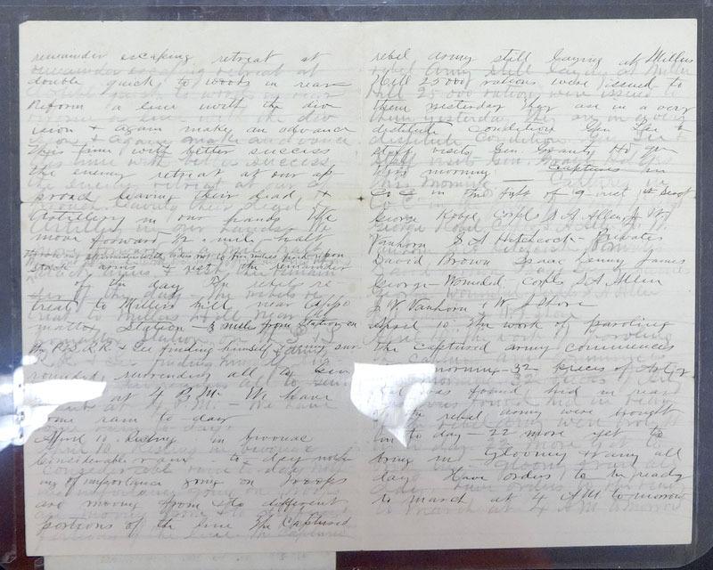 Robert Larimer, Diary, 1865.