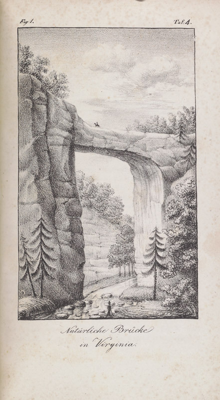 Charles Cramer, Etwas über die Natur wunder in Nord America, 1837.