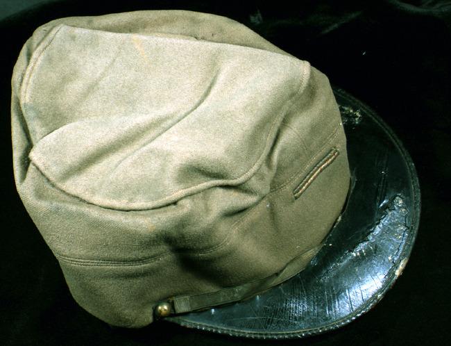 McConnell artifacts. Uniform cap