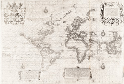 """A Chart of the World on Mercator's Projection."""
