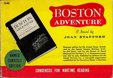 Jean Stafford. Boston Adventure