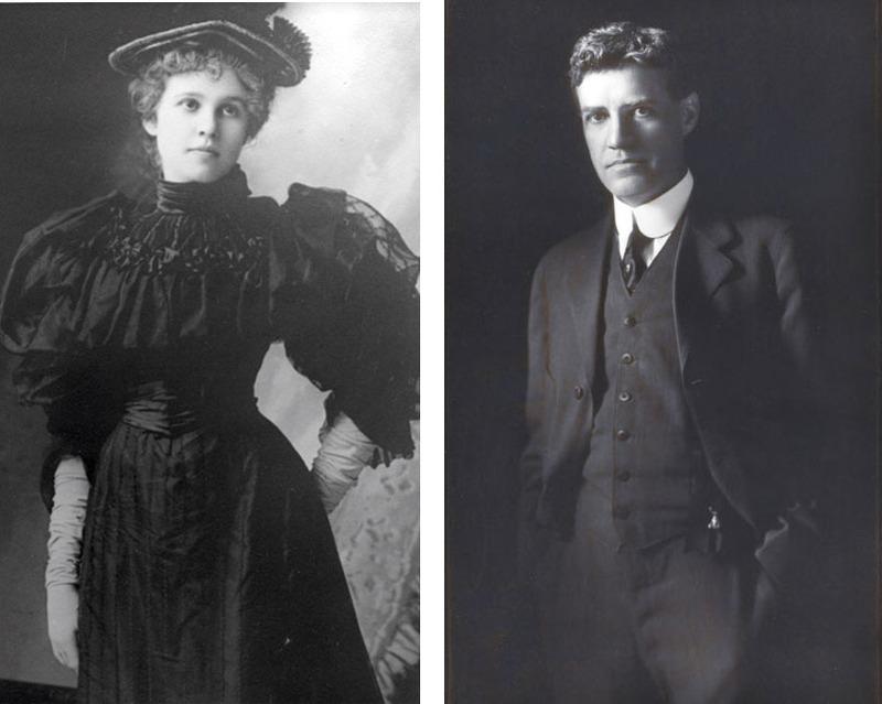 Katherine Whitney McGregor (1873 - 1954) and Tracy W. McGregor (1869 - 1936)  Courtesy McGregor Fund