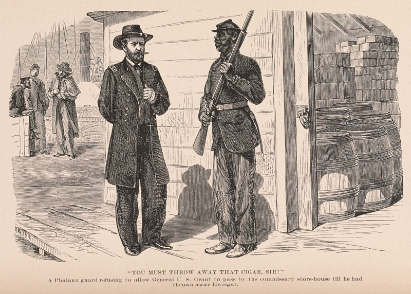 Image from Joseph T. Wilson, The Black Phalanx. Hartford: American Publishing Co., 1888.