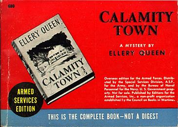 Ellery Queen, Calamity Town&lt;br /&gt;<br />