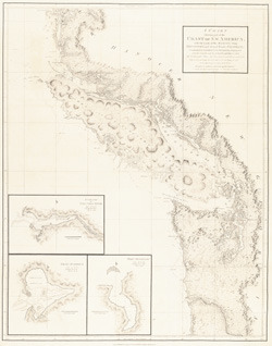 """A Chart Shewing Part of the Coast of N.W. America."""