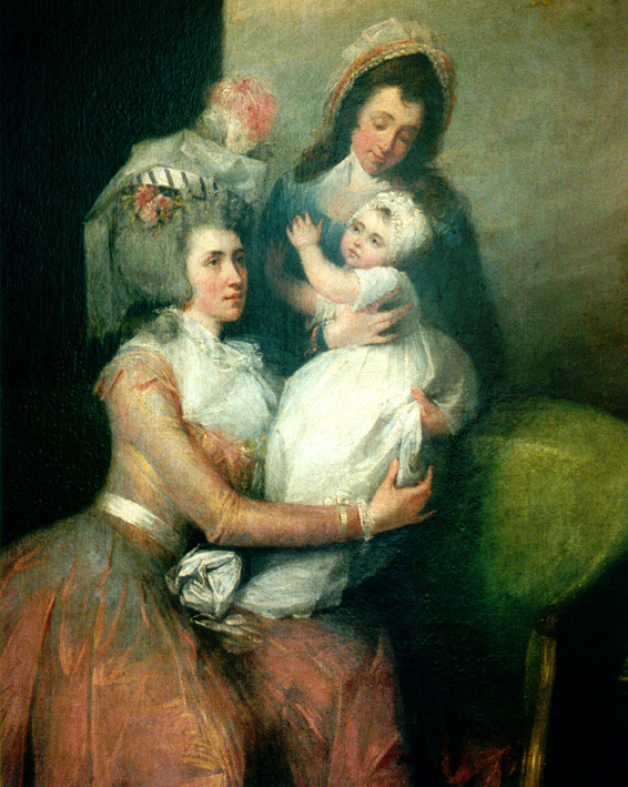 Angelica Church, Child and Servant