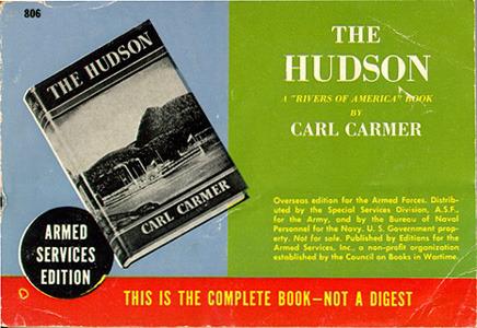 Carl Carmer. The Hudson