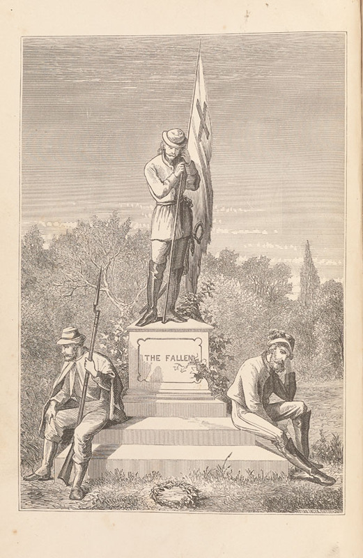 Frontispiece from Rev. John Lipscomb Johnson, The University memorial. [Baltimore: Turnbull Brothers, 1871]
