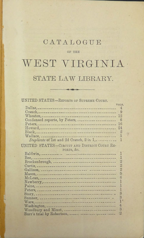 Parker Granville, The formation of the state of West Virginia ... Wellsburg, W.Va.: Glass & Son, 1875.
