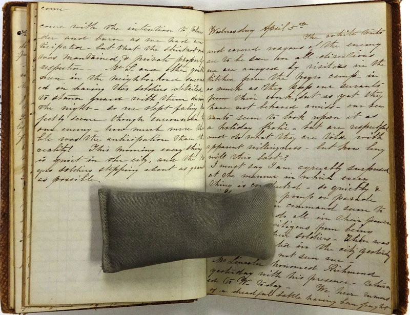 Clara Shafer, Diary, 1865.