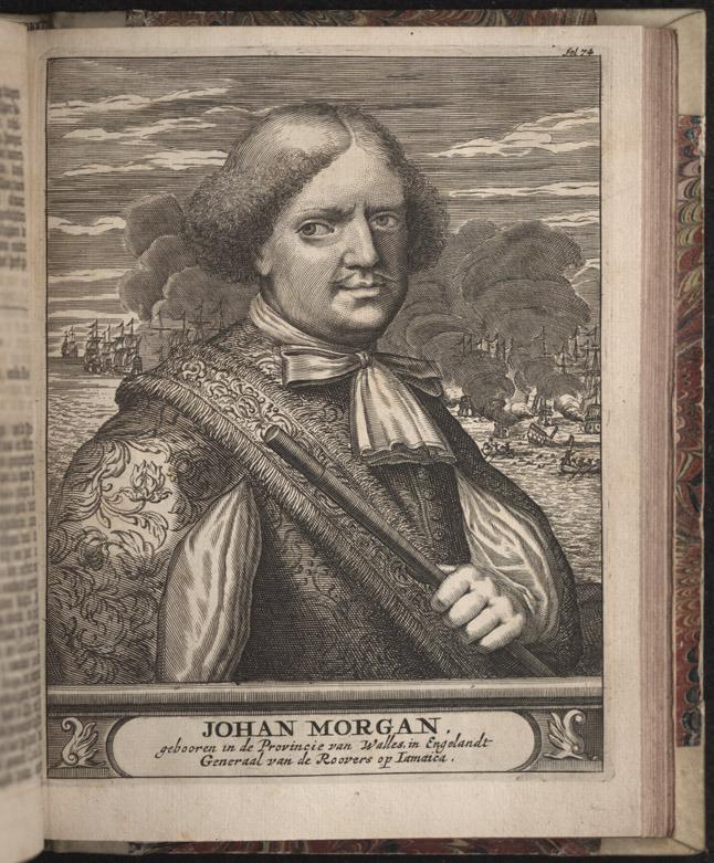 Alexandre O. Exquemelin, De Americaensche zee-roovers, 1678.