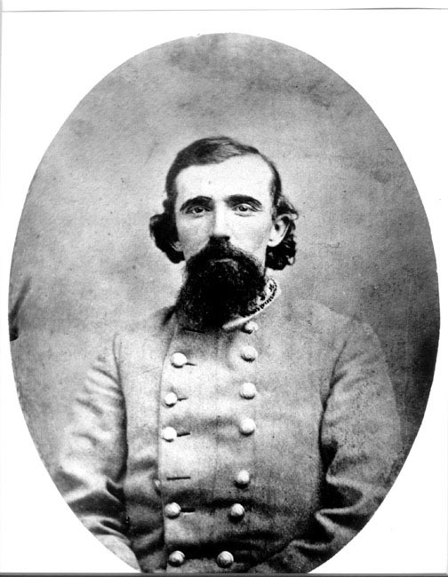 Photograph of Lucius E. Polk. No date. From the collections at the Library of Congress, Washington, D.C. Copy print courtesy of the Museum of the Confederacy, Richmond, Virginia.