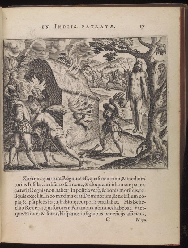 Bartolomé de las Casas, Narratio Regionum Indicarum per Hispanos quosdam devastatarum verissima, 1598.
