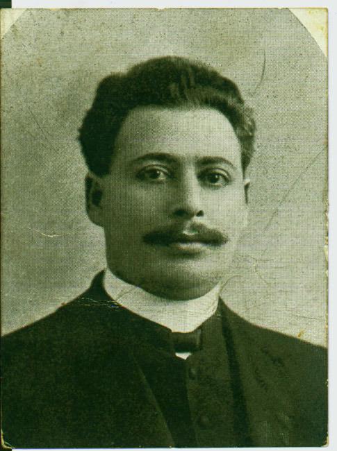 &lt;br /&gt;<br /> Photograph of Edward N. Calisch. No date.