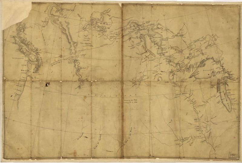 "Nicholas King. ""Map of the Western part of North America."" 1803."