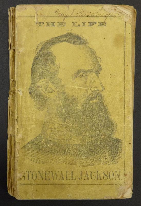 John Esten Cooke, The life of Stonewall Jackson. Richmond, Va.: Ayres & Wade, 1863.