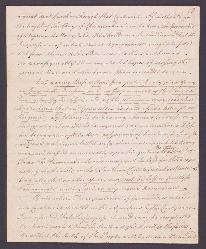Richard Oswald, Memorandum, 15 August 1781.