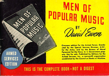 David Ewen. Men of Popular Music