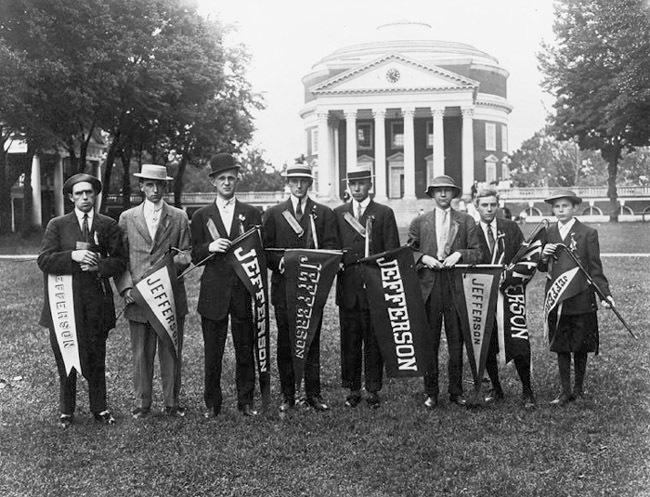 Photograph. Jefferson Society. No date