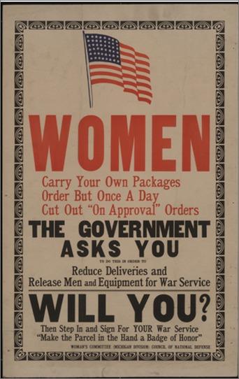 Women, The Govenrment Asks you