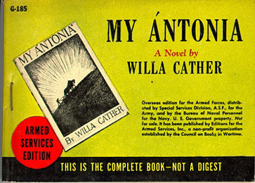 Willa Cather. My Antonia. mint