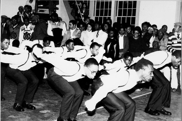 Photograph of Block Show (Step Show).