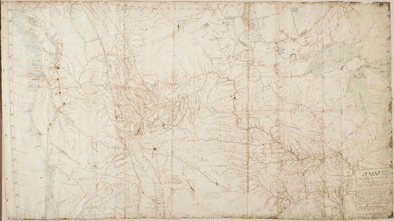 "William Clark. ""A Map of part of the Continent of North America."" 1810."
