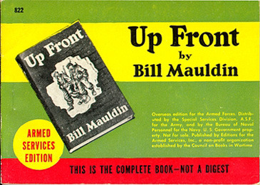 Bill Mauldin. Up Front