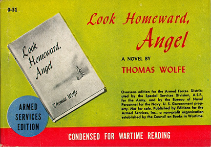 Thomas Wolfe. Look Homeward, Angel