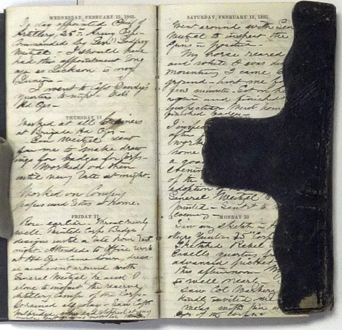 Loomis L. Langdon, Diary, 1865.