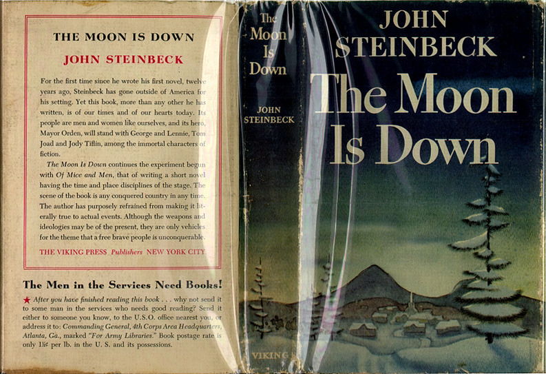 John Steinbeck. The Moon is Down.