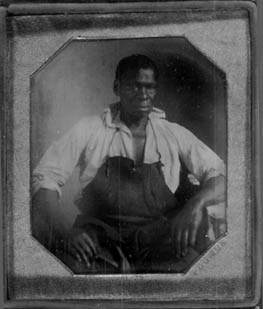 Isaac Jefferson. Daguerreotype