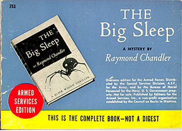 Raymond Chandler, The Big Sleep