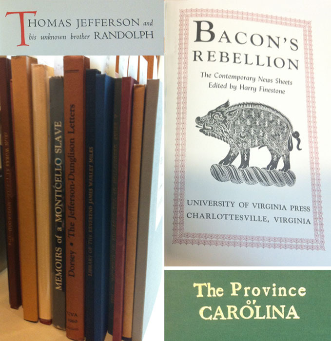 Selection of McGregor Library Publications