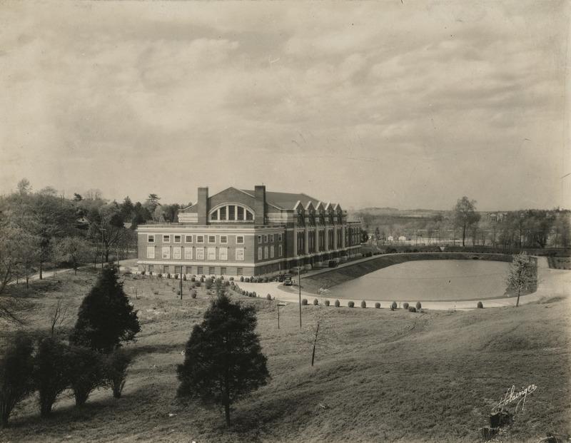 Memorial Gymnasium, ca. 1924-1940