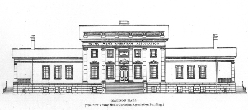 Front elevation of Madison Hall